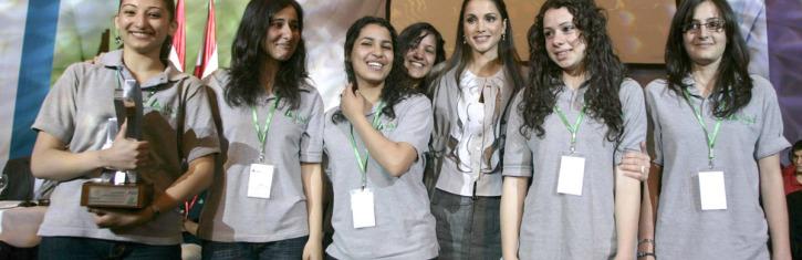 2007 in Amman Jordan, Winner Teen Touch from  INJAZ Palestine
