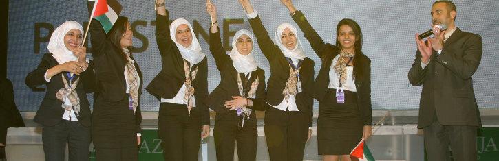 2011, in Amman Jordan, Winner ESCO from INJAZ Palestine